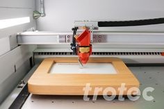 The Trotec laser cutters offer countless possibilities for laser cutting and engraving wood. ✔MDF ✔Plywood ✔Solid wood ✔Balsa wood, etc. Photo Engraving, Laser Engraving, Engraved Photo Frames, Trotec Laser, Laser Machine, Engraved Gifts, Christmas Jewelry, Planer, Diy Gifts