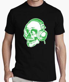 Camiseta Calavera dj