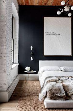 Темная спальня | NM House
