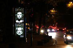 Vitrapoint Plakatkampagne - Düsseldorf, Königsallee, Agentur Schöpfung, Dirk Kreckeler, Rob Brünig, 4/4 farbiger Offsetdruck, durchleuchtet, Fotograf: Dieter Eikelpoth