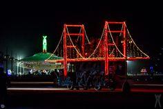 Burning Man 2013 - The Golden Gate Bridge Art Car