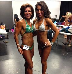 My fit bestie & I ...5th for me 1st for her!