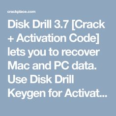 disk drill 3 activation code