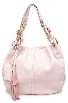 Blush Rose Hobo Bag ♥