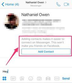 Facebook Messenger prueba una nueva función