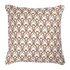 COCOCOZY Linen Pillow - Arch 2 color - Rust and Gray!  Love this year round but especially for fall!