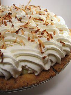 the barmy baker: Coconut Cream Bliss...er...I Mean Pie....