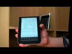 Vue Smartreader ereader.  E-kirjojen lukulaite.