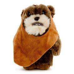 Disney Plush - Star Wars - Ewok Plush - 8 1/2''