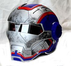 Masei Blue Star Trooper 610 Motorcycle Harley Chopper DOT Helmet FREE Shipping Worldwide