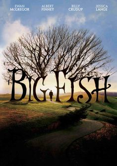 Big Fish is a 2003 American fantasy adventure film based on the 1998 novel of the same name by Daniel Wallace. The film was directed by Tim Burton and stars Albert Finney, Ewan McGregor, Billy Crudup, Jessica Lange and Marion Cotillard. Big Fish Film, Big Fish Movie, Film Big, Ewan Mcgregor, Streaming Hd, Streaming Movies, Daniel Wallace, Film Tim Burton, Fisher