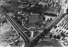 La Palma Park of Anaheim with Glover Stadium on the top left corner.