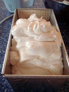 Gelato alla Vaniglia senza gelatiera/Vanille Ice Cream without ice cream maker