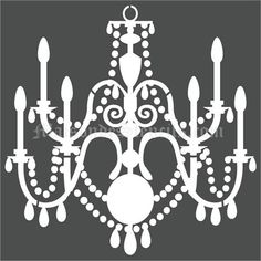 Beautiful chandelier stencil images fantastic diy chandelier ideas contemporary chandelier cake stencil gallery fantastic diy 7x15 opa1947 mozeypictures Gallery