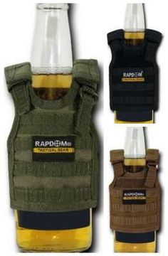 tactical koozie. funny gift for a first responder or military person. Cute idea for a white elephant gift too