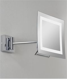 Low Energy Square Bathroom Vanity Mirror IP44 Rated