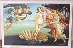 'Sandro Botticelli The birth of Venus 1485 Artwork for Prints Posters Tshirts Men Women Kids' Photographic Print by Art-O-Rama Shop Venus Painting, Renaissance Artworks, The Birth Of Venus, Most Famous Paintings, Kunst Poster, Poster Prints, Art Prints, Posters, Gandalf