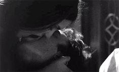 gif love relationship couple kissing Black and White the vampire diaries sexy hot kiss ian somerhalder tvd passion nina dobrev elena damon passionate Scene Couples, Cute Couples Kissing, Cute Couples Goals, Couple Kissing, Couple Goals, Daddy Aesthetic, Couple Aesthetic, Aesthetic Gif, Romantic Kiss Gif