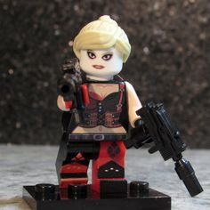 Hey, I found this really awesome Etsy listing at https://www.etsy.com/listing/215058737/new-custom-harley-quinn-minifigure-lego