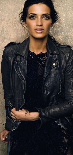 Black Leather and Lace ~ www.myseattlestylist.com