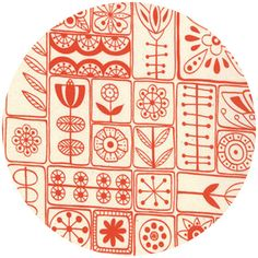 I'm absolutely obsessed with Scandinavian folk patterns.