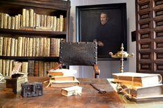Escritorio en la Casa de Lope de Vega, Madrid.