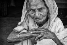"""Old woman from the village \""""Mac... by Robert"""
