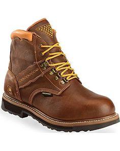 Buy Dan Post Mens Brown Gripper Zipper Waterproof Leather Cowboy Boots 11 D 003025ea9f