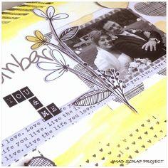 Inspírate con la colección Plus One de Amy Tangerine #scrapbooking #inspirate #madscraproject #MSP #plusone Amy Tangerine, Love Life, Scrap, Blog, Projects, Home Decor, Canvases, Log Projects, Decoration Home