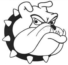 Bulldog Head Logo - ClipArt Best