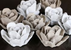 Egg cartons are so versatile for crafting, and practically free. This roundup will get you inspired to take a second look at how useful it is to re-purpose and recycle egg cartons!