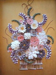 Seashell art... Holy WOW!!!