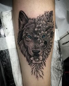 ⇢ 𝒇๏ℓℓ๏𝒘 🐝 ⇠ - Tattoos - Dream Tattoos, Badass Tattoos, Future Tattoos, Tribal Sleeve Tattoos, Leg Tattoos, Body Art Tattoos, Pretty Tattoos, Beautiful Tattoos, Wolf Tattoos For Women