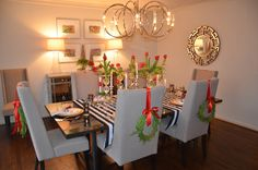ksw's stunning dining room!!