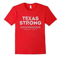 Texas Strong / Harvey 2017 T-Shirt by F5 Apparel Company >>> There's strong, and then there's Texas Strong. Stand with Texas as they recover and rebuild their lives. Spread that spirit of neighbor helping neighbor to your town and be Texas Strong!