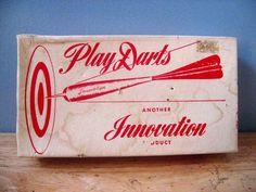 #Vintage Game Darts