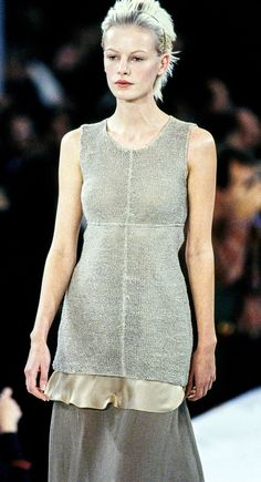 Calvin Klein Collection // SPRING 1994 // READY-TO-WEAR // Model: Emma Balfour