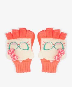 Sequined Hello Kitty® Mittens