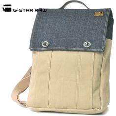 G-STAR RAW(ジースターロー)トートバッグ カーキ×デニム No.89544A.3083.001【送料無料】 bag-gs-003
