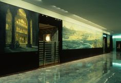 Craig McPherson - AMEX Tower East Walls, Istanbul Triptych