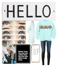 """""""Cutie"""" by josie2015 ❤ liked on Polyvore featuring Rosanna, Americanflat, AG Adriano Goldschmied, Vans and River Island"""