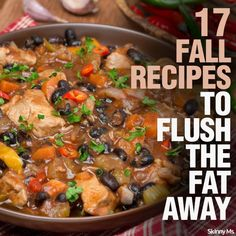17 Fall Recipes to Flush the Fat Away