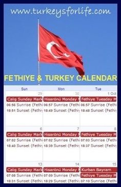 View Our Fethiye & Turkey Events Calendar