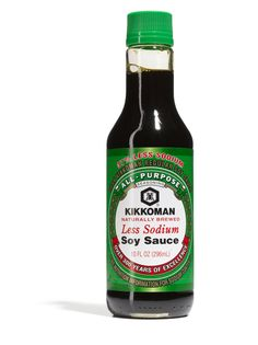 There are many, many brands of soy sauce out there. But you want Kikkoman, because it tastes of soy, not just salt. The Wisconsin-made staple isn't only for dipping dumplings—we recommend using it whenever you want to give a dish a savory umami hit.