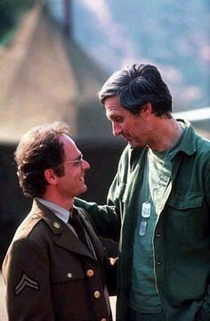 #mash #M*A*S*H - Hawkeye Pierce and Radar O'Reilly