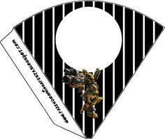 Transformers: imprimibles gratis. 13 modelos diferentes.