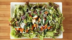 Red-Leaf Salad with Roasted Sweet Potatoes Videos | Lettuce How to's and ideas | Martha Stewart