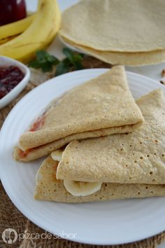 Discover recipes, home ideas, style inspiration and other ideas to try. Crepes And Waffles, Healthy Recepies, Healthy Desserts, Tapioca Crepes, Low Carb Recipes, Vegan Recipes, Low Carb Grocery, Deli Food, Pancake