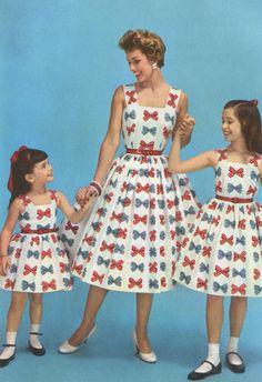 Habillée comme Maman ! Un rêve de petite fille des années 50