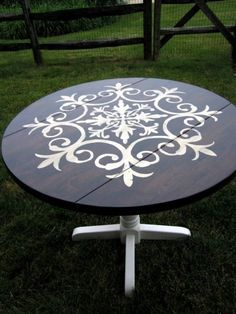 awesome Idée relooking cuisine - Before & After – Medallion Table Makeover | Shelterness